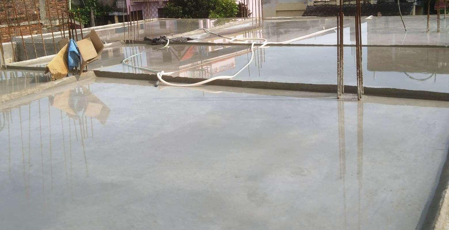 Curing of Concrete slab