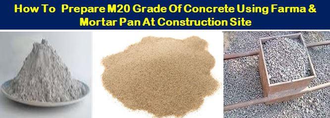 M20 Grade of Concrete